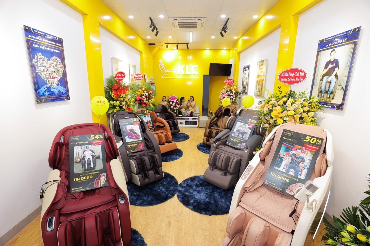 Ghế Massage Chính Hãng KLC - Hà Đông