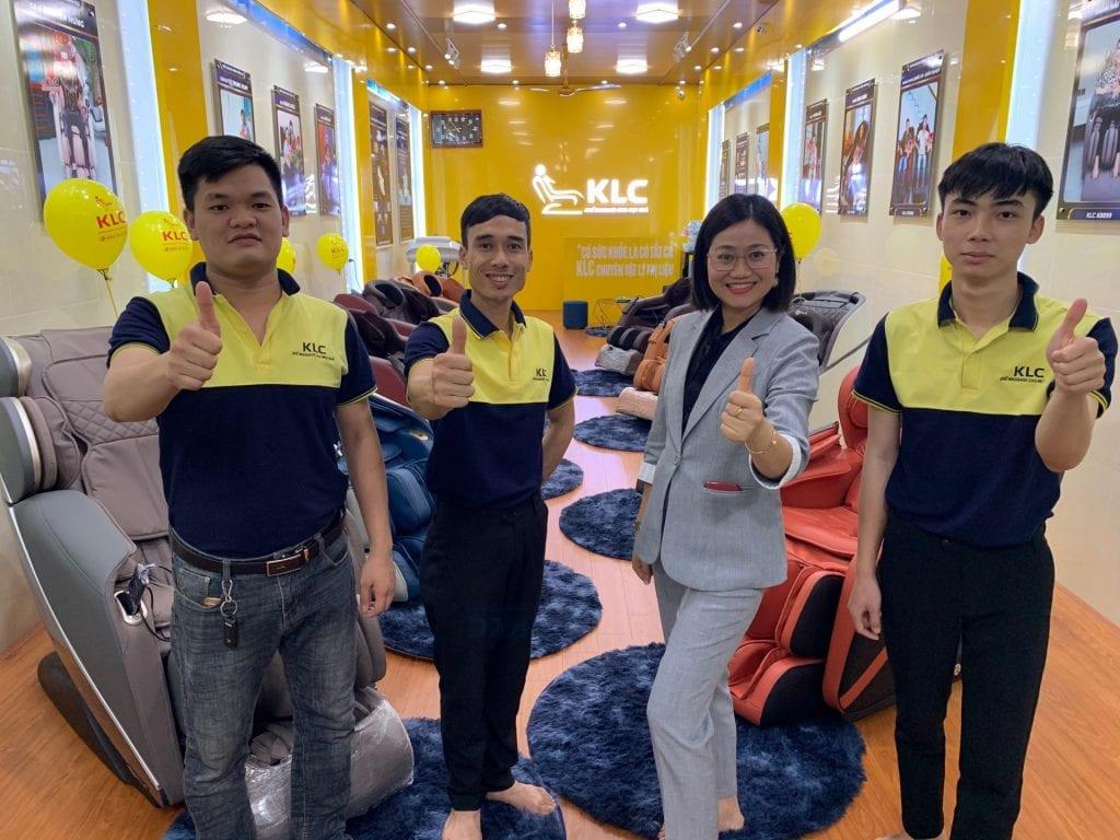 Showroom ghế massage KLC Ninh Bình