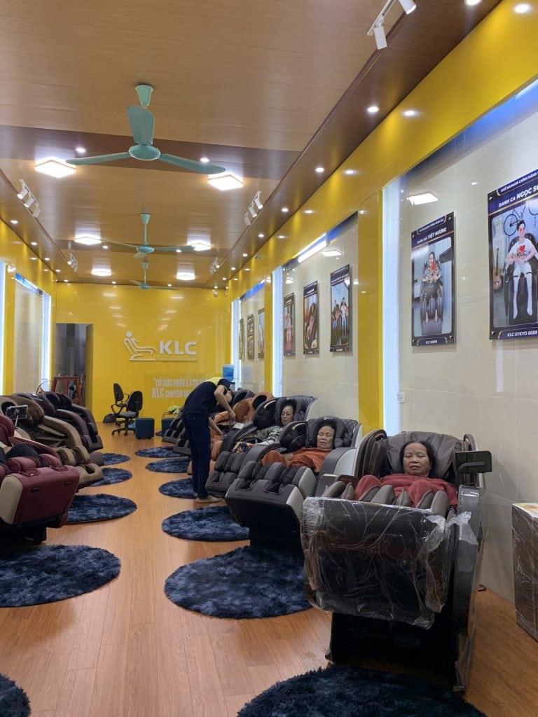 Ghế Massage Chính Hãng KLC - Ninh Bình