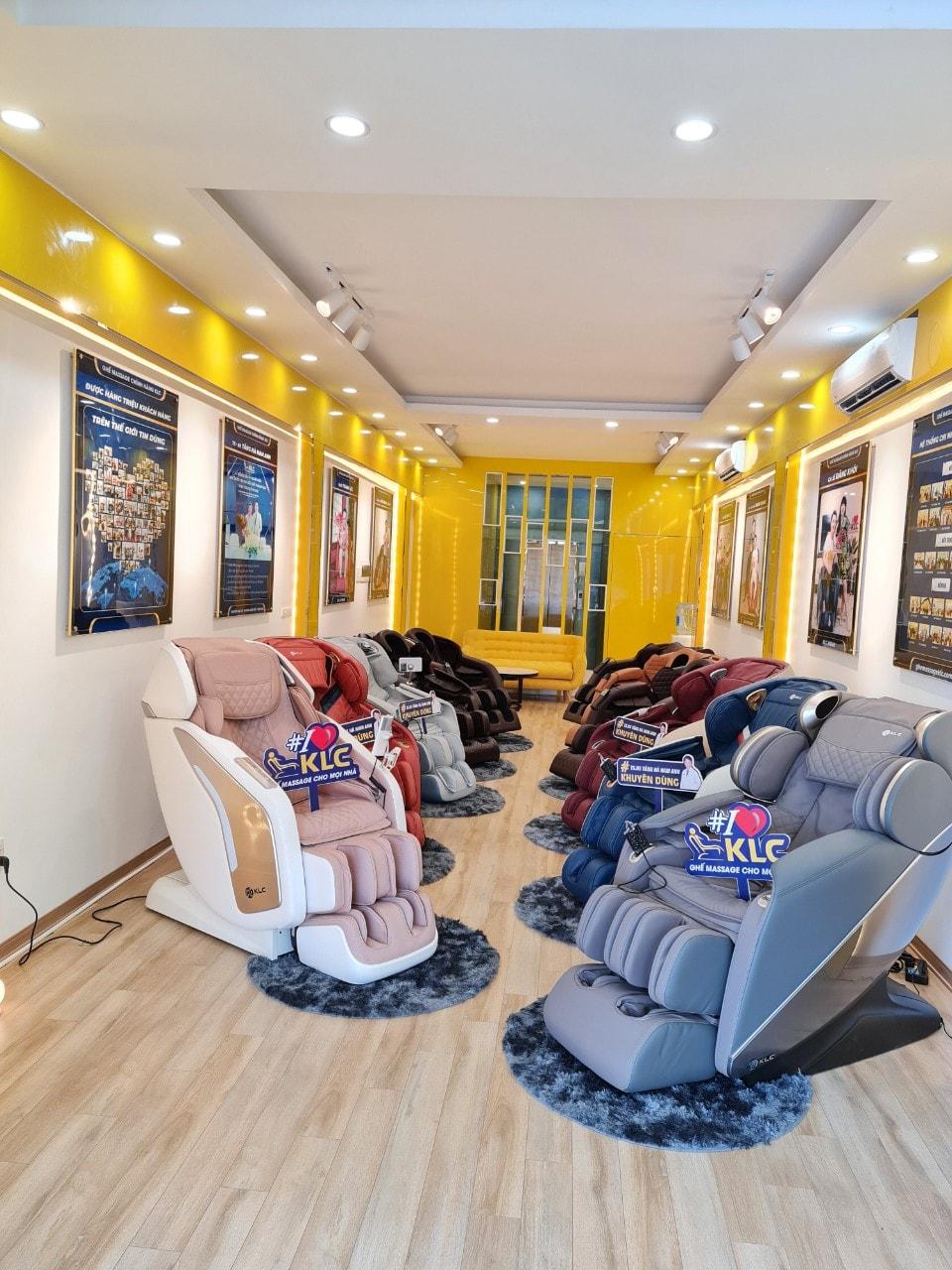 ghế massage chính hãng klc thanh xuân