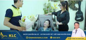 7 Ghế massage KLC