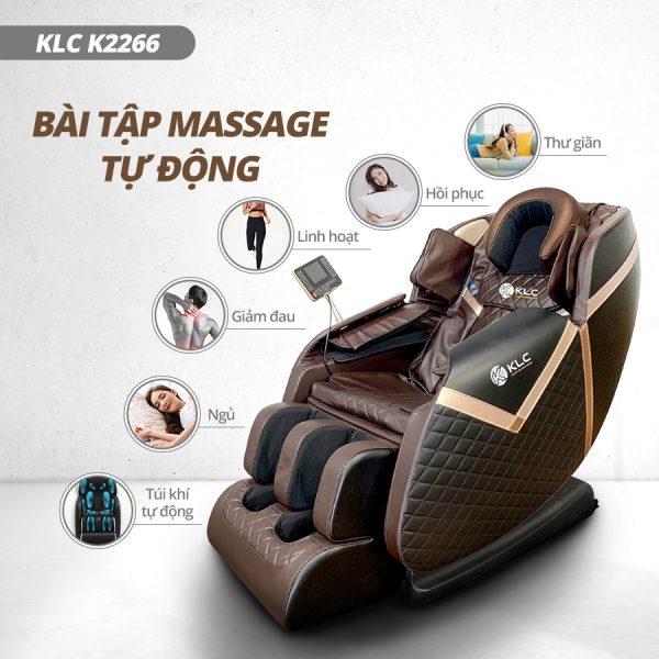 Banner K2266 1 Ghế massage KLC