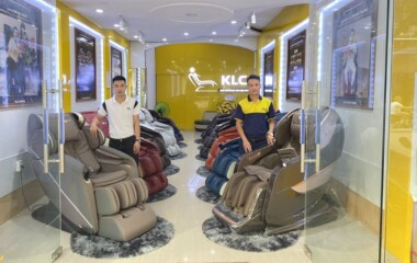 Ghế massage chính hãng KLC Nam Định