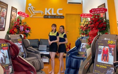 Ghế massage chính hãng klc Bảo Lộc - Lâm Đồng