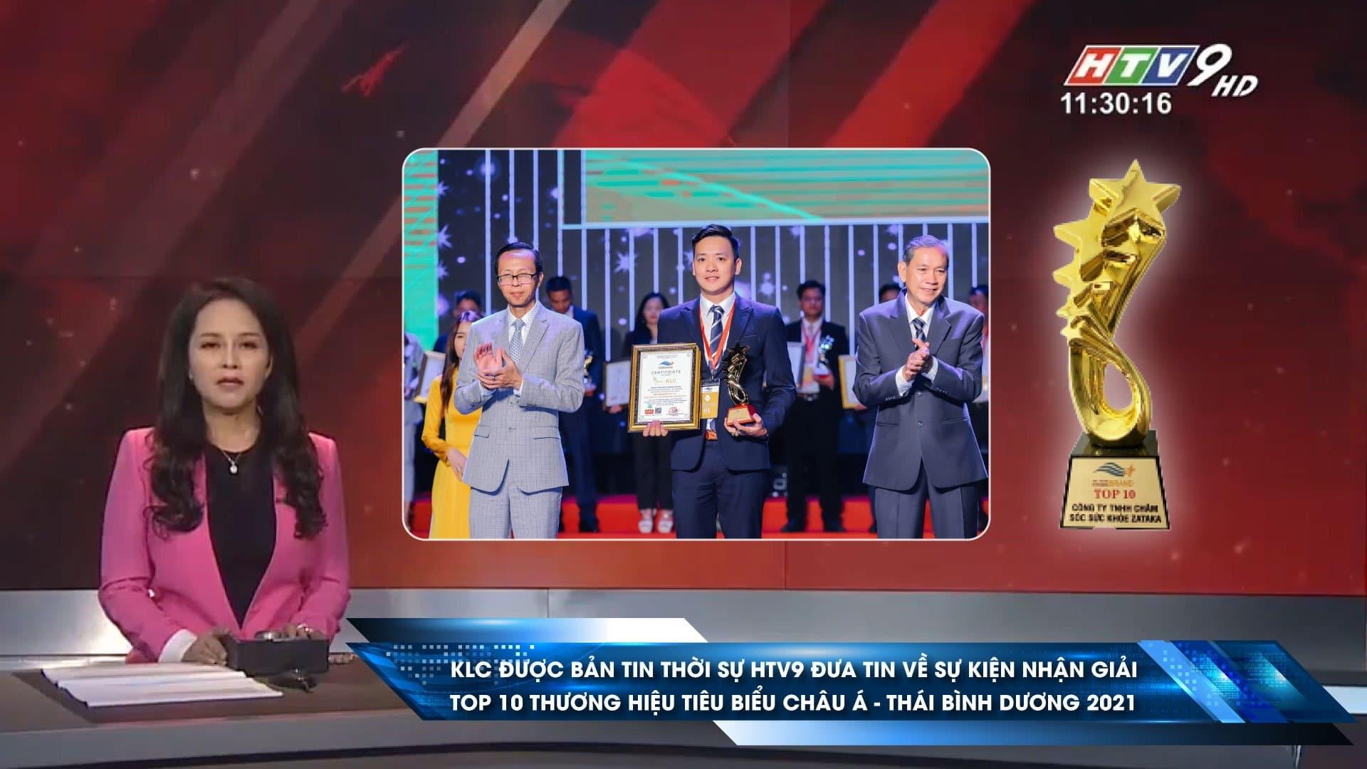 HTV9 dua tin Ghế massage KLC