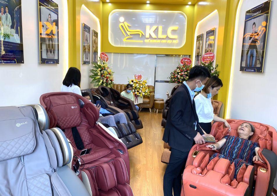 Ghế Massage Chính Hãng KLC Thái Bình CN2