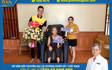 Bác Nguyễn Hòa (65 tuổi) ở Vinh