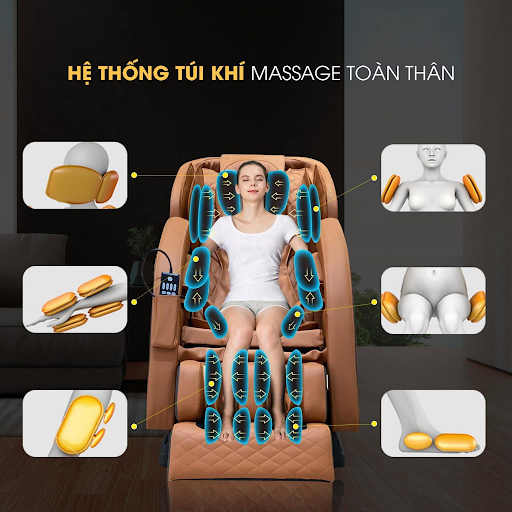 Tính năng của ghế massage giá rẻ