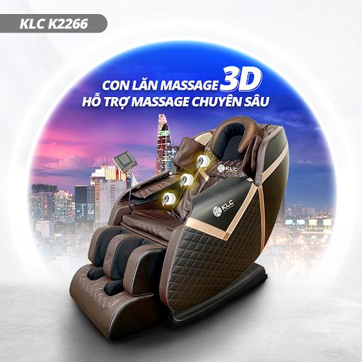 Ghe massage KLC K2266 Ghế massage KLC